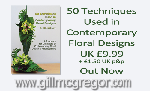 Flower Arranging Book - 50 Techniques Used in Contemporary Floral Design