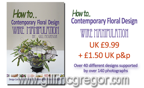 How to..  Contemporary Floral Design - Wire Manipulation
