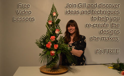 Free - Flower Arranging Video Lessons - Now it's your turn to make the designs