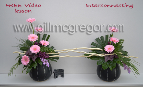 Free - Flower Arranging Video Lesson Number 3
