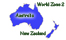 Flower Arranging Books - Australia & New Zealand - World Zone2 - see map