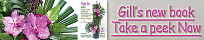 Flower Arranging Books - Living Vases¸ Screens & Structures - by Gill McGregor
