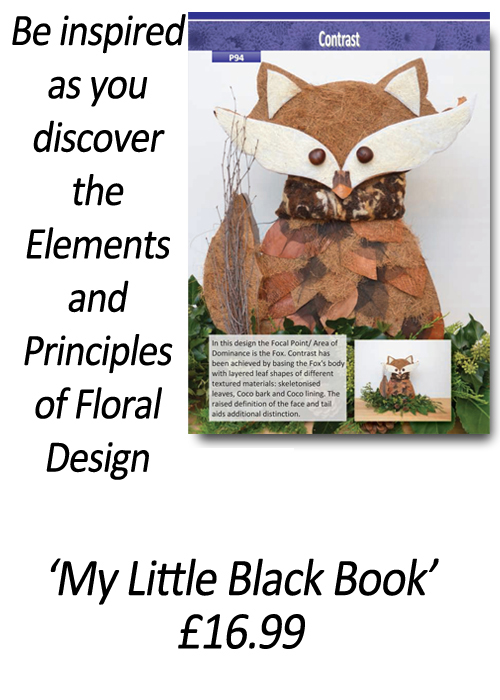 How to design with flowers - Floristry Books - 'How to Apply the Elements and Principles of Floral Design' - by Gill McGregor