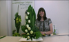 Contemporary Floral Design Techniques - Tubing - Plaited Palms - Grouping