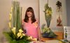 Contemporary Flower arranging Video Lesson -  Flower Arranging Technique - Hedging