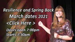 Tickets for Resilience and Spring Back - March