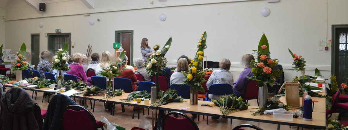 Virtual Flower Arranging Workshops